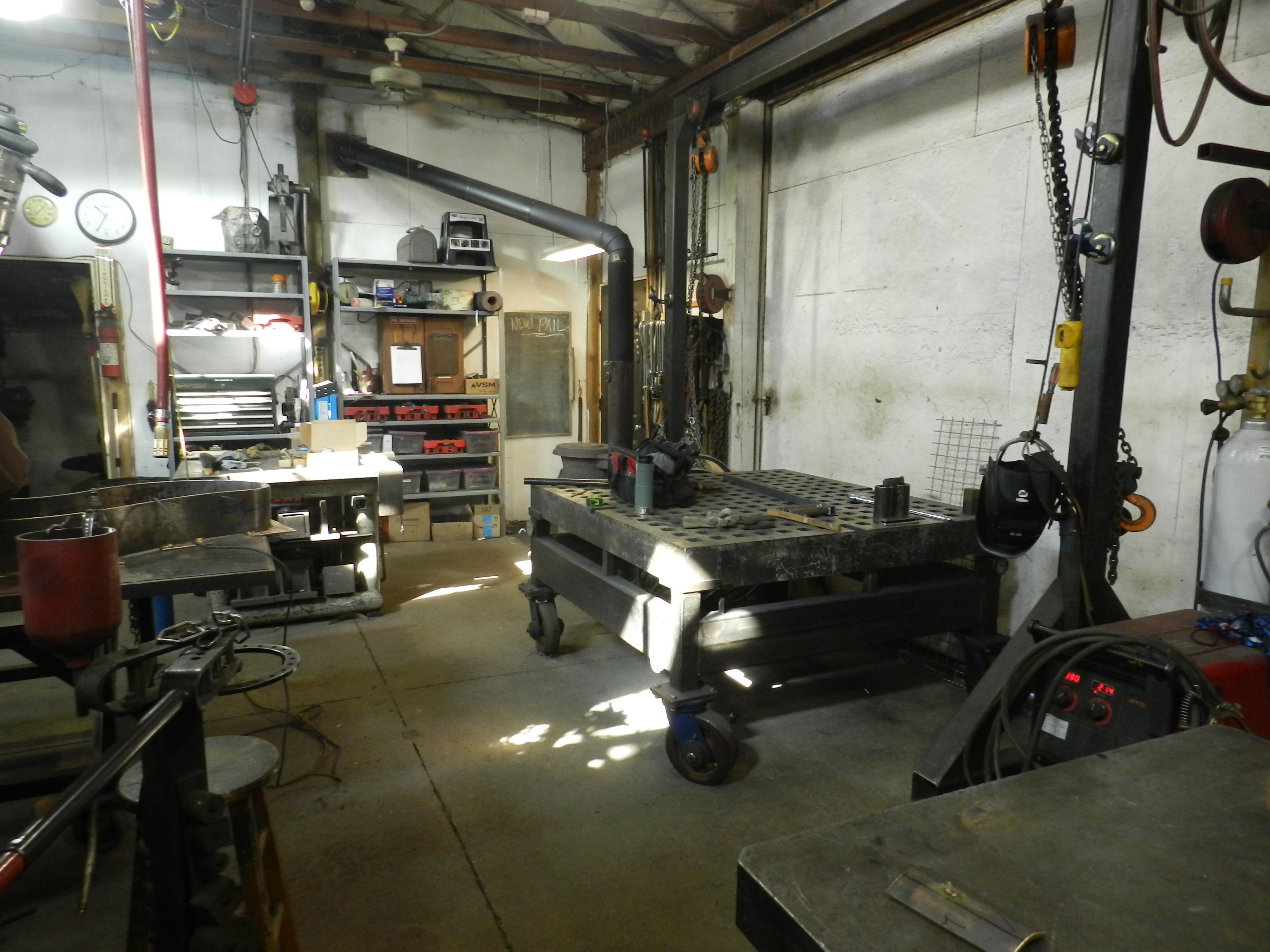 Tour the Forge - Village Blacksmith, Inc